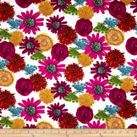 Makers Home Multi Flower Magenta