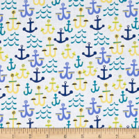 Seaside Anchors White