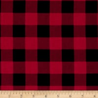 The Great Outdoors Hunting Plaid Red