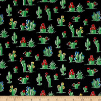 South Of The Border  Cactus Black