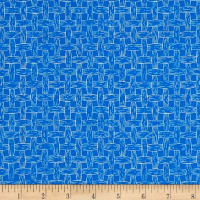 South Of The Border  Basket Weave Blue