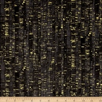 Uncorked Black Metallic Gold