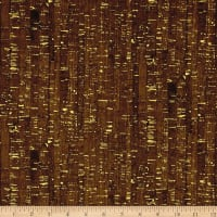 Uncorked Chocolate Metallic Gold