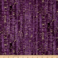 Uncorked Grape Metallic Gold