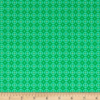 Uppercase Volume 2  Flower Stitch Green
