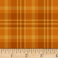 Lakeside  Plaid Saffron