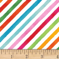 Sweet Treats  Stripe Rainbow Multi