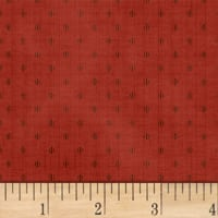 Farmhouse Living  Dot Foulard Red