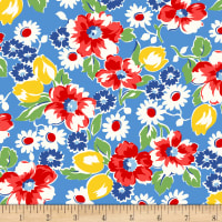 Sugar Sack Floral Blue