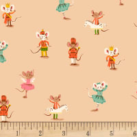Sugarplum Nutcracker Mice Peach