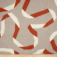 Dwell Studio Vento Ribbon Persimmon