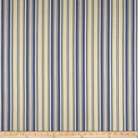 Laura & Kiran Toulouse Stripe Blue/Cream