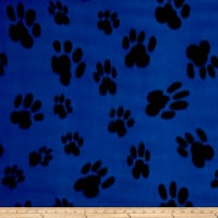 Polar Fleece Big Paw Blue