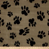 Polar Fleece Big Paw Tan