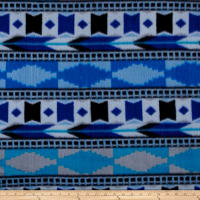Polar Fleece Southwest Blue