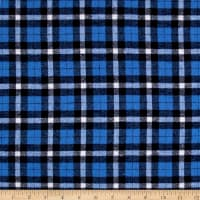 Yarn Dyed Flannel Sebastian Blue