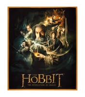"Lord of the Rings Hobbit Characters 36"" Panel Multi"