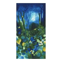 "Timeless Treasures Deep Forest 24"" Forest Panel Forest"