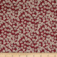 Liberty Fabrics Tana Lawn Ffion Red