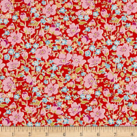 Liberty Fabrics Tana Lawn John Orange
