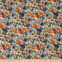 Liberty Fabrics Tana Lawn Rachel Orange