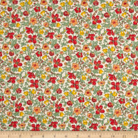 Liberty Fabrics Tana Lawn Meadow Orange