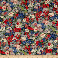 Liberty Fabrics Tana Lawn Thorpe Red