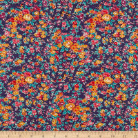 Liberty Fabrics Tana Lawn Tatum Orange