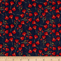 Liberty Fabrics Tana Lawn Ros Red