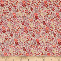 Liberty Fabrics Tana Lawn Emma and Georgina Orange