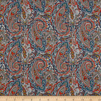 Liberty Fabrics Tana Lawn Tessa Orange