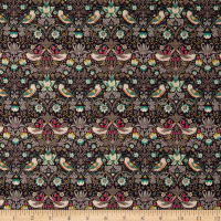 Liberty Fabrics Tana Lawn Strawberry Thief Green