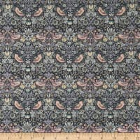 Liberty Fabrics Tana Lawn Strawberry Thief Grey