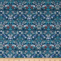 Liberty Fabrics Tana Lawn Strawberry Thief Blue