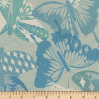 Cotton + Steel Flutter Flutter Aqua
