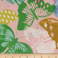 Cotton + Steel Flutter Flutter Pink