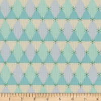 Cotton + Steel Flutter Prism Aqua