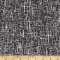 Pandora Upholstery Basketweave Charcoal/Brown