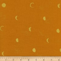 Cotton + Steel Santa Fe Moon Phase Metallic Clay