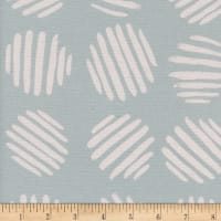 Cotton + Steel Panorama Ocean Coin Dots Baby Powder