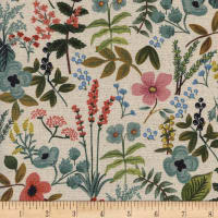 Cotton + Steel Rifle Paper Co. Canvas Amalfi Herb Garden Natural