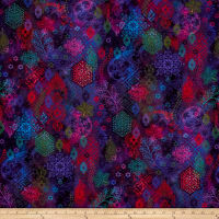 Arabesque Lacery Digital Violet