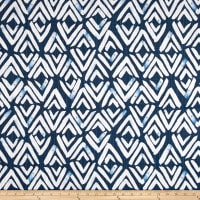 Premier Prints Fearless Slub Canvas Regal Navy