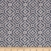 Premier Prints Kennedy Slub Canvas Cello Blue