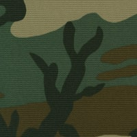 Defender 708 Polyurethane Denier Fabric, Woodland