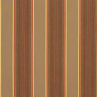 Sunbrella Stripes Davidson Redwood