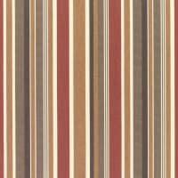 Sunbrella Stripes Brannon Redwood