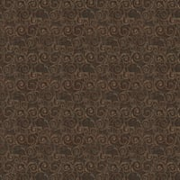 Abbey Shea Revolve Chenille Saddle Brown
