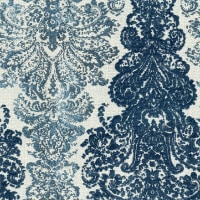 Abbey Shea Elegance Jacquard Bedazzled Blue