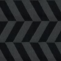 Abbey Shea Symmetry Jacquard Black